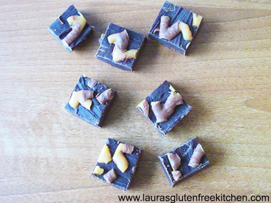 Gluten Free Curly Wurly Fudge
